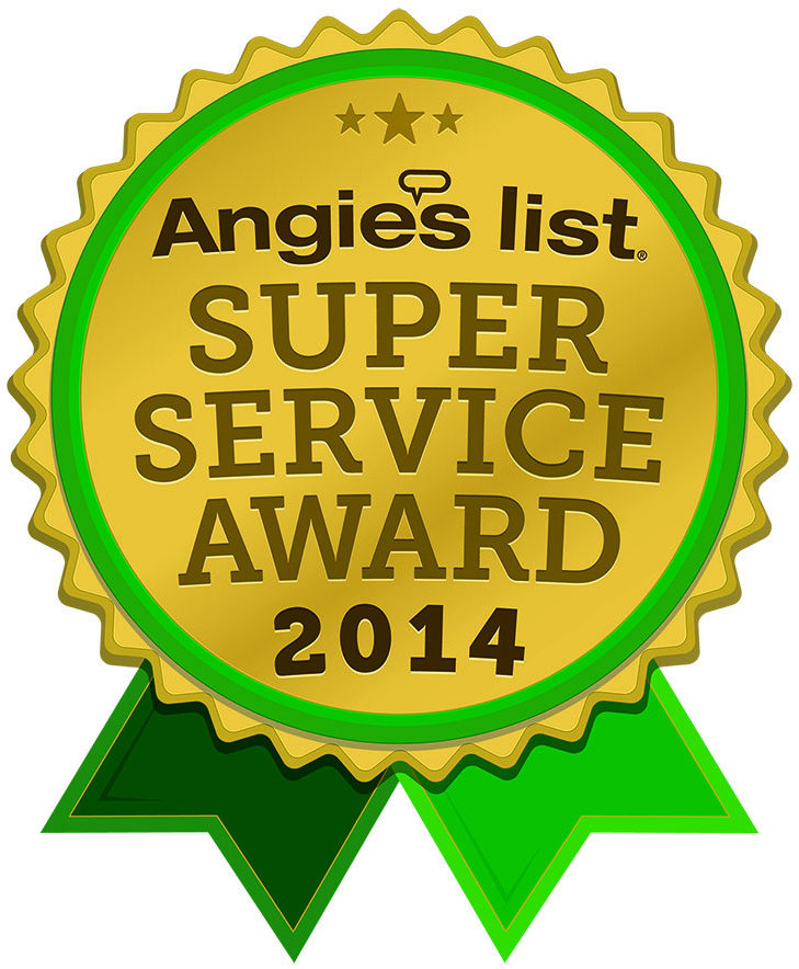 Angies List Super Service Award 2014