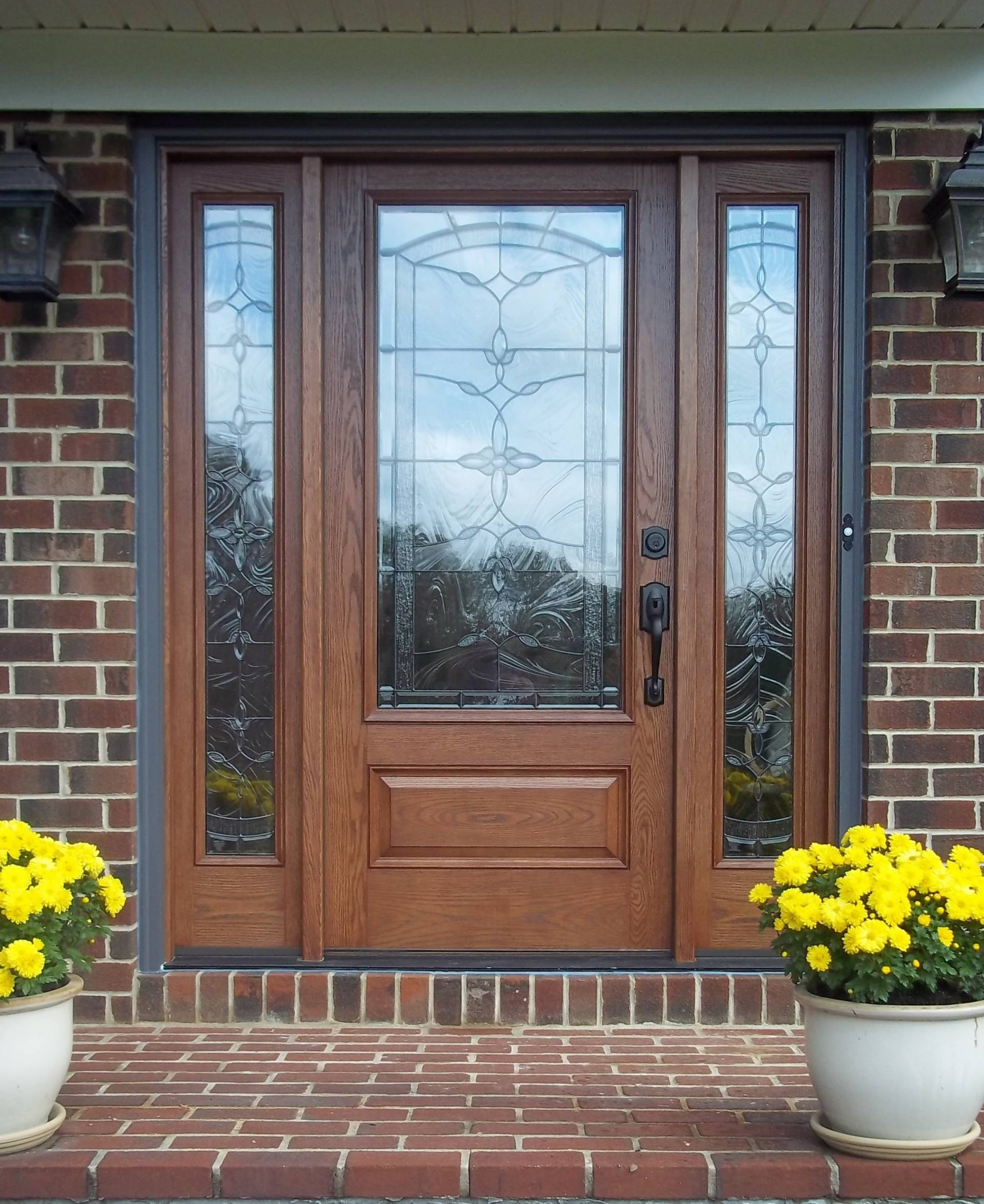 Entry doors choice windows doors for Entry doors with glass