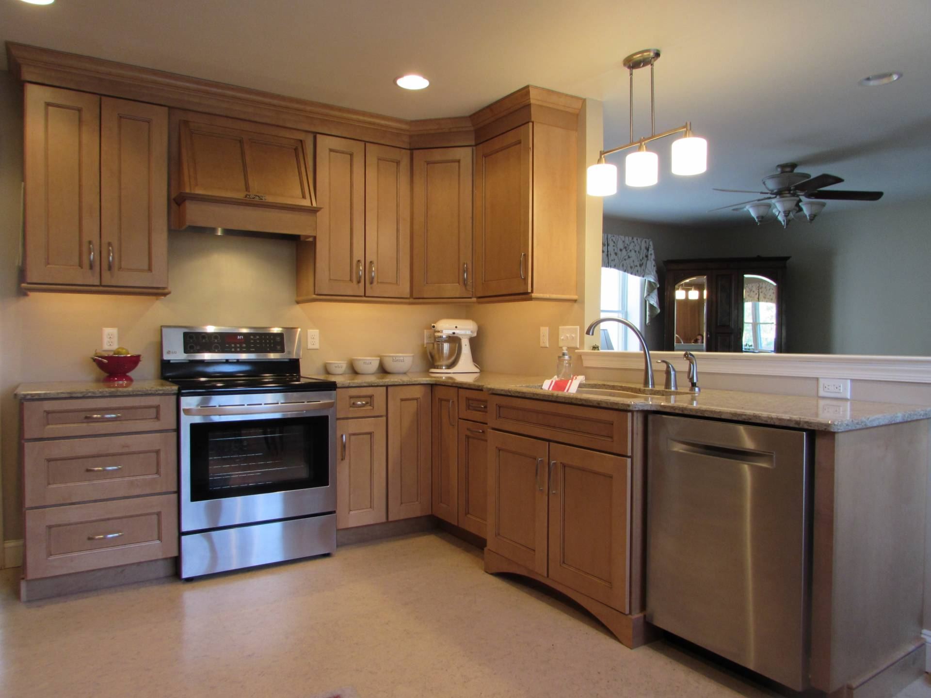 Lancaster kitchen choice windows doors for Kitchen remodeling lancaster pa