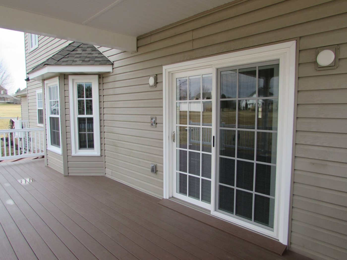 1050 #665C49 Patio Doors Choice Windows & Doors picture/photo Triple Pane Sliding Glass Doors 791400