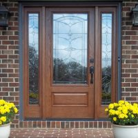 Entry Door With Bella Glass Installation Project