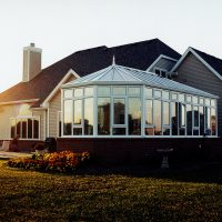 New Victorian Style Sunroom Addition