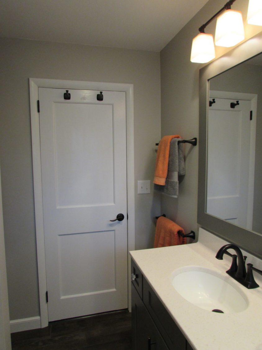 bathroom privacy door