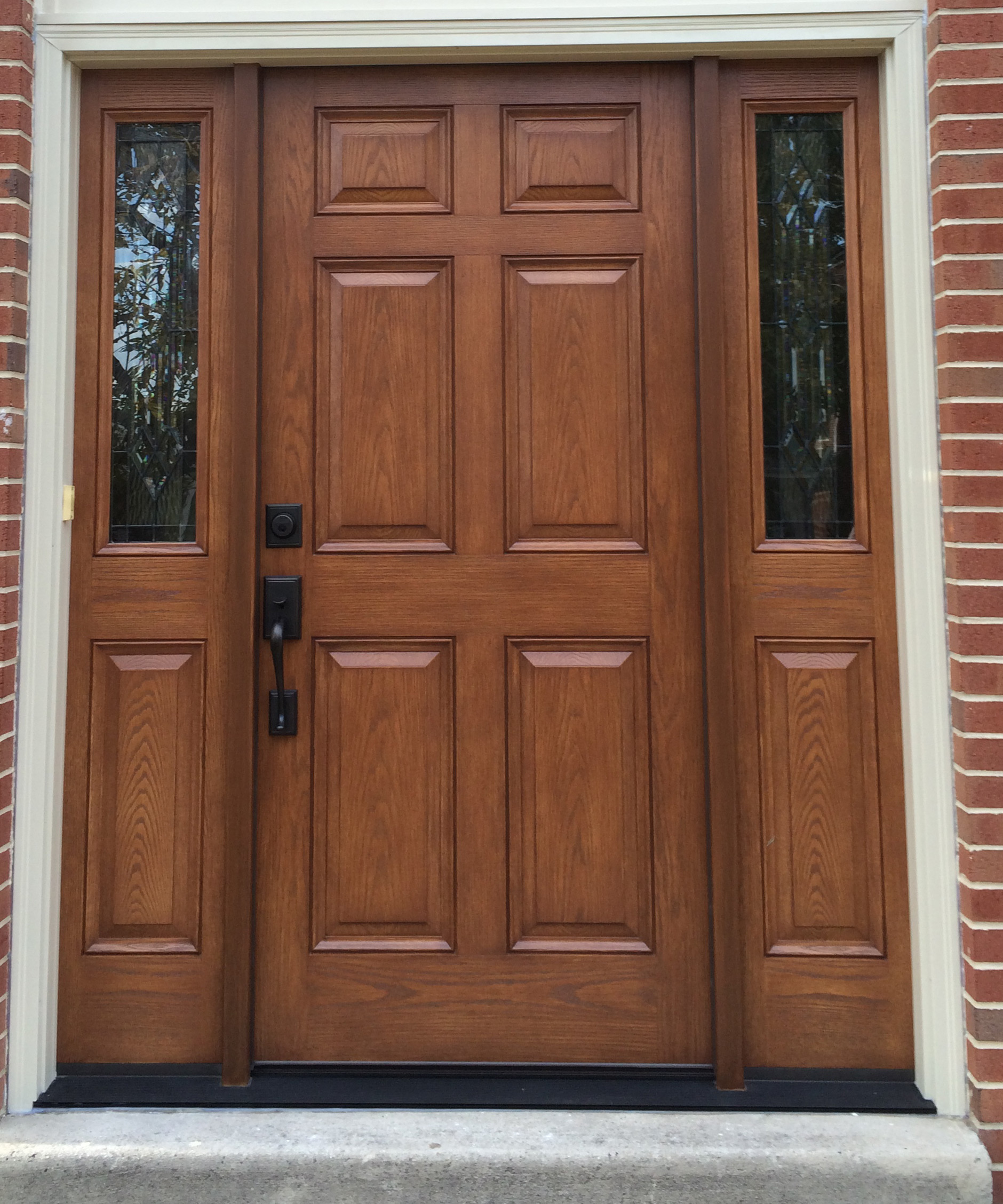 Entry way door choice windows doors for Entry door installation