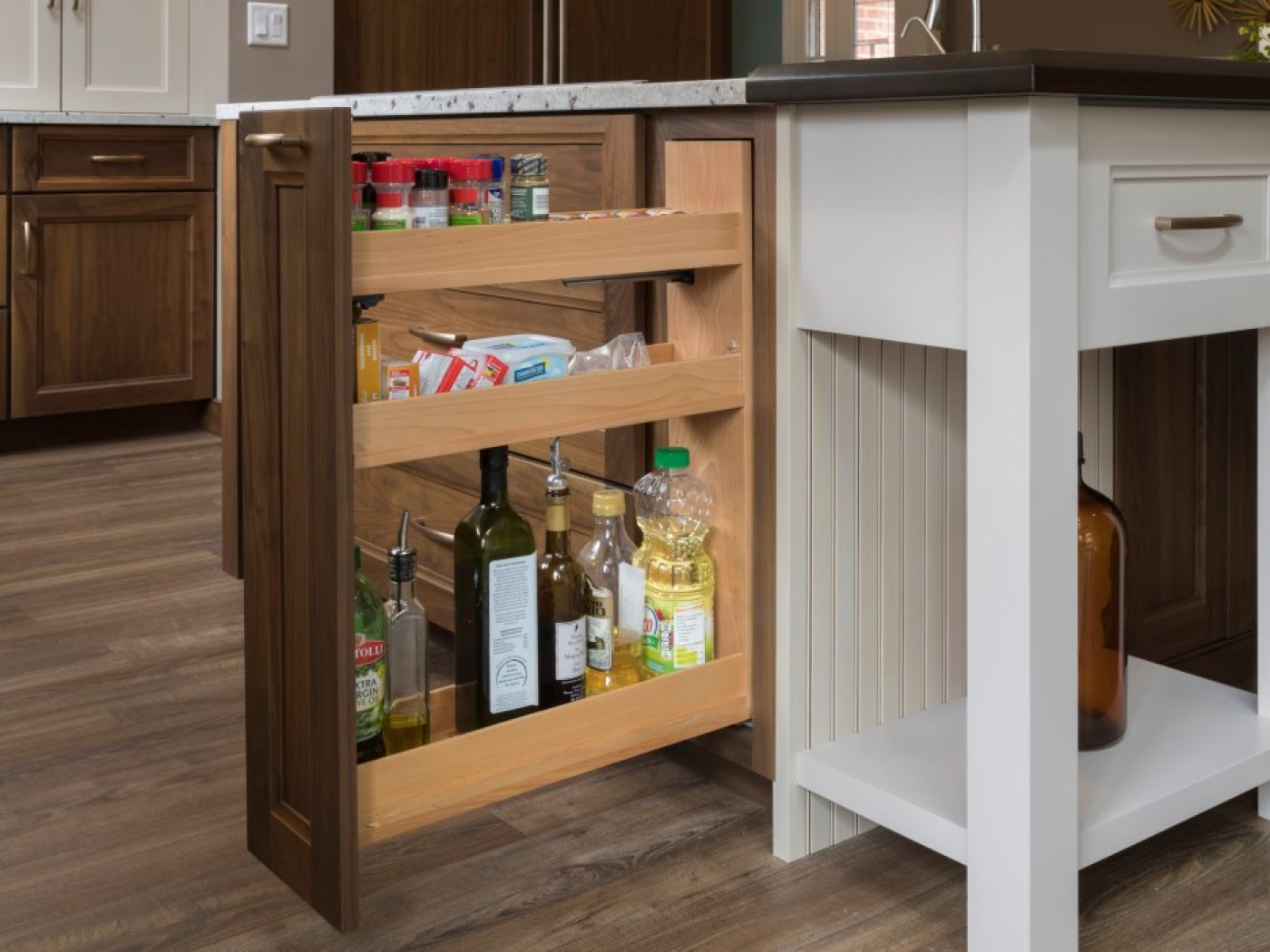 beautiful pull out cabinet