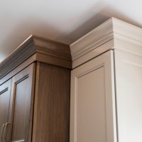cabinets above stove