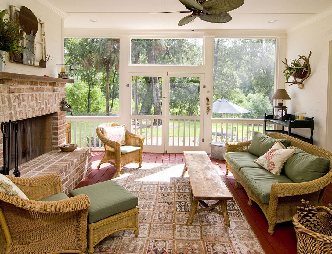 Traditional sunroom style & design