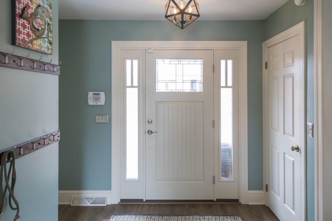 White front door lancaster