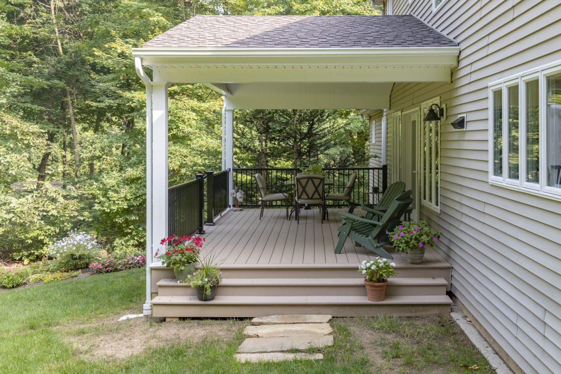 Lancaster Remodeled Porch