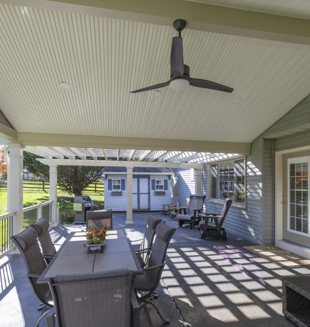 Lititz Patio & Gable Roof