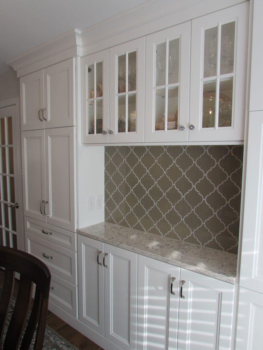 Glass cabinet octarara