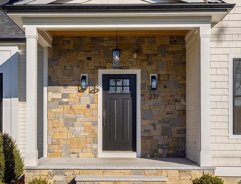Craftsmen style front door