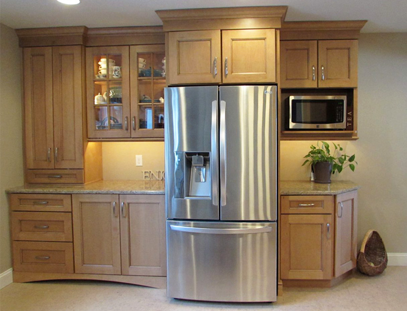 Modern kitchen cabinet color trend