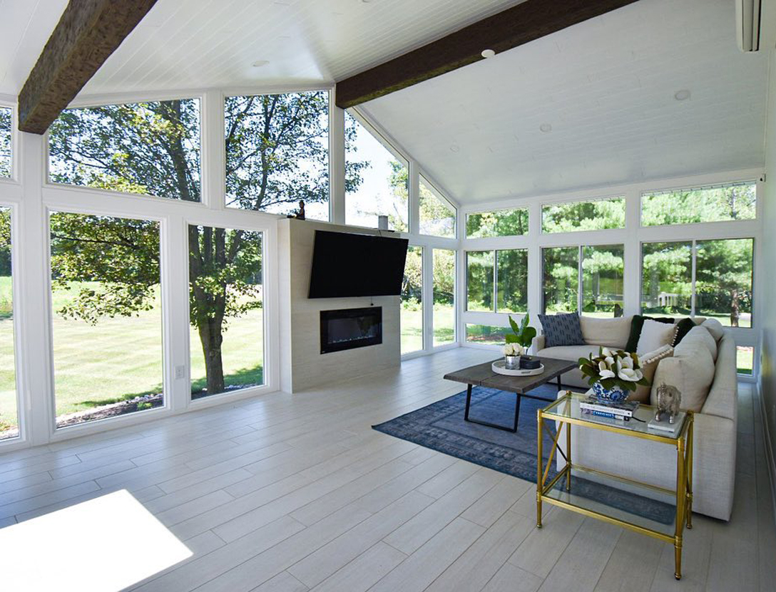 Popular window replacement options for sunroom