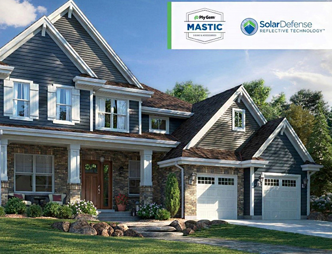 Popular Mastic siding options for home exterior
