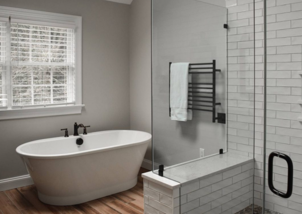 Bathroom Design Trend: Separate Tub and Shower Combos