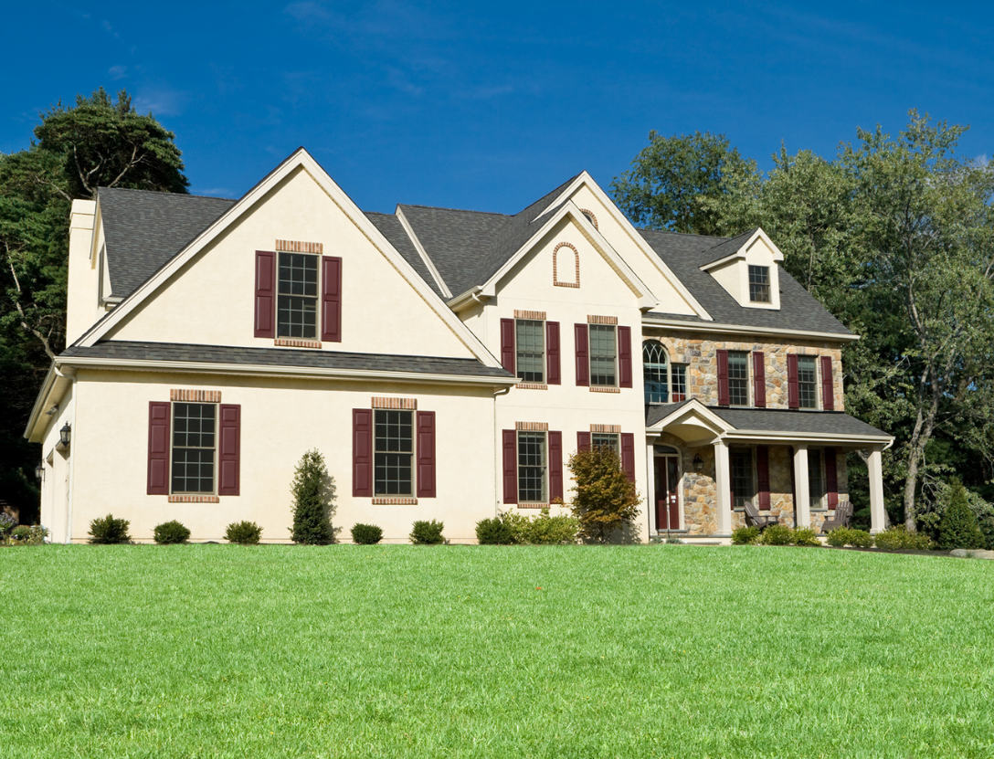 Lancaster County stucco work on home